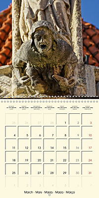 Mysterious creatures Gargoyles and Chimeras (Wall Calendar 2019 300 × 300 mm Square) - Produktdetailbild 3