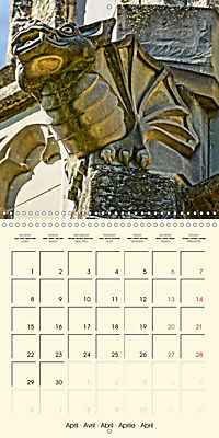 Mysterious creatures Gargoyles and Chimeras (Wall Calendar 2019 300 × 300 mm Square) - Produktdetailbild 4