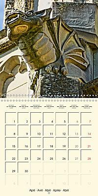 Mysterious creatures Gargoyles and Chimeras (Wall Calendar 2019 300 × 300 mm Square) - Produktdetailbild 4