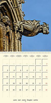 Mysterious creatures Gargoyles and Chimeras (Wall Calendar 2019 300 × 300 mm Square) - Produktdetailbild 6