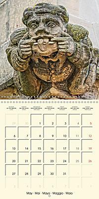 Mysterious creatures Gargoyles and Chimeras (Wall Calendar 2019 300 × 300 mm Square) - Produktdetailbild 5