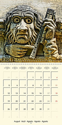 Mysterious creatures Gargoyles and Chimeras (Wall Calendar 2019 300 × 300 mm Square) - Produktdetailbild 8
