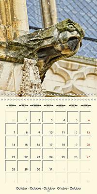Mysterious creatures Gargoyles and Chimeras (Wall Calendar 2019 300 × 300 mm Square) - Produktdetailbild 10