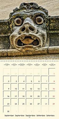 Mysterious creatures Gargoyles and Chimeras (Wall Calendar 2019 300 × 300 mm Square) - Produktdetailbild 9