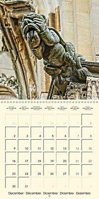 Mysterious creatures Gargoyles and Chimeras (Wall Calendar 2019 300 × 300 mm Square) - Produktdetailbild 12