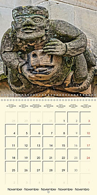 Mysterious creatures Gargoyles and Chimeras (Wall Calendar 2019 300 × 300 mm Square) - Produktdetailbild 11