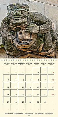 Mysterious creatures Gargoyles and Chimeras (Wall Calendar 2019 300 × 300 mm Square) - Produktdetailbild 11