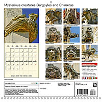 Mysterious creatures Gargoyles and Chimeras (Wall Calendar 2019 300 × 300 mm Square) - Produktdetailbild 13