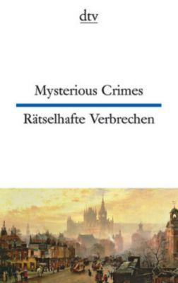 Mysterious Crimes / Rätselhafte Verbrechen