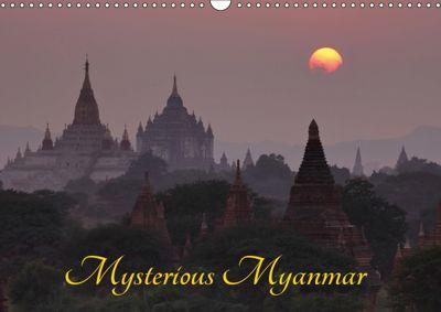 Mysterious Myanmar (Wall Calendar 2019 DIN A3 Landscape), Roland Brack