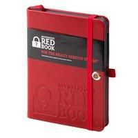 Mysterious Red Book - Notizbuch für Privates