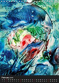mystic encaustic ART de Luna (Wall Calendar 2019 DIN A4 Portrait) - Produktdetailbild 2