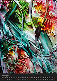 mystic encaustic ART de Luna (Wall Calendar 2019 DIN A4 Portrait) - Produktdetailbild 6