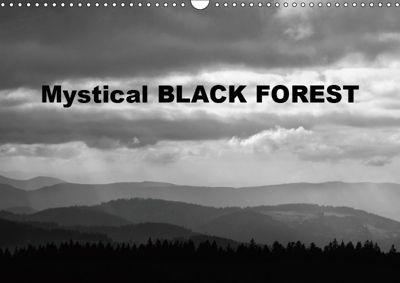 Mystical Black Forest (Wall Calendar 2019 DIN A3 Landscape), Guenter Linderer