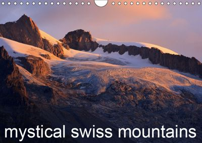 Mystical Swiss Mountains (Wall Calendar 2019 DIN A4 Landscape), Marcel Schaefer
