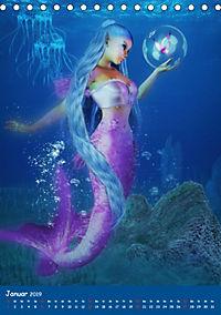 Mystische Meerjungfrauen (Tischkalender 2019 DIN A5 hoch) - Produktdetailbild 1