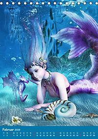 Mystische Meerjungfrauen (Tischkalender 2019 DIN A5 hoch) - Produktdetailbild 2