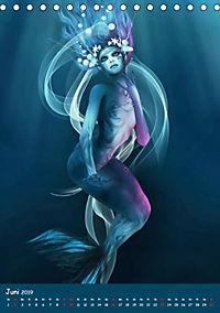 Mystische Meerjungfrauen (Tischkalender 2019 DIN A5 hoch) - Produktdetailbild 6