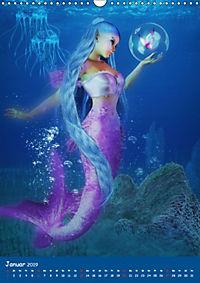 Mystische Meerjungfrauen (Wandkalender 2019 DIN A3 hoch) - Produktdetailbild 1
