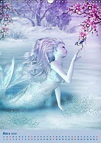 Mystische Meerjungfrauen (Wandkalender 2019 DIN A3 hoch) - Produktdetailbild 3