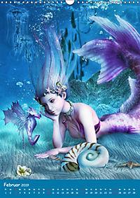 Mystische Meerjungfrauen (Wandkalender 2019 DIN A3 hoch) - Produktdetailbild 2