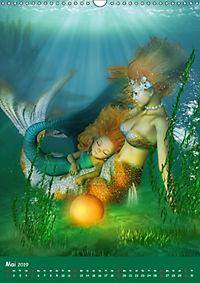 Mystische Meerjungfrauen (Wandkalender 2019 DIN A3 hoch) - Produktdetailbild 5