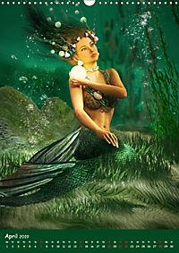 Mystische Meerjungfrauen (Wandkalender 2019 DIN A3 hoch) - Produktdetailbild 4