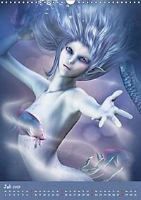 Mystische Meerjungfrauen (Wandkalender 2019 DIN A3 hoch) - Produktdetailbild 7