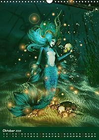 Mystische Meerjungfrauen (Wandkalender 2019 DIN A3 hoch) - Produktdetailbild 10
