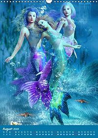 Mystische Meerjungfrauen (Wandkalender 2019 DIN A3 hoch) - Produktdetailbild 8
