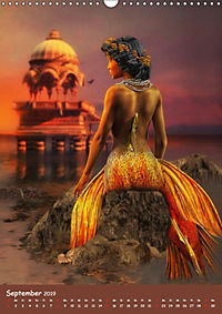 Mystische Meerjungfrauen (Wandkalender 2019 DIN A3 hoch) - Produktdetailbild 9