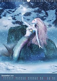 Mystische Meerjungfrauen (Wandkalender 2019 DIN A3 hoch) - Produktdetailbild 12