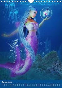Mystische Meerjungfrauen (Wandkalender 2019 DIN A4 hoch) - Produktdetailbild 1