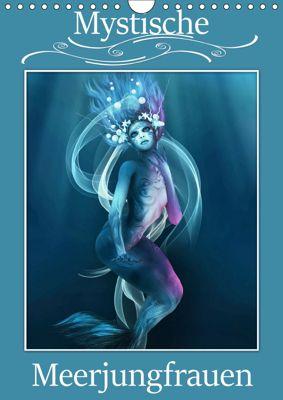 Mystische Meerjungfrauen (Wandkalender 2019 DIN A4 hoch), Illu Pic A.T.Art