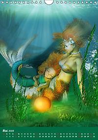 Mystische Meerjungfrauen (Wandkalender 2019 DIN A4 hoch) - Produktdetailbild 5