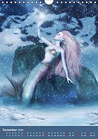 Mystische Meerjungfrauen (Wandkalender 2019 DIN A4 hoch) - Produktdetailbild 12
