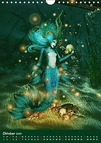 Mystische Meerjungfrauen (Wandkalender 2019 DIN A4 hoch) - Produktdetailbild 10