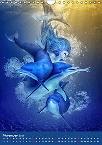 Mystische Meerjungfrauen (Wandkalender 2019 DIN A4 hoch) - Produktdetailbild 11
