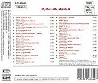 Mythos Alte Musik Ii - Produktdetailbild 1