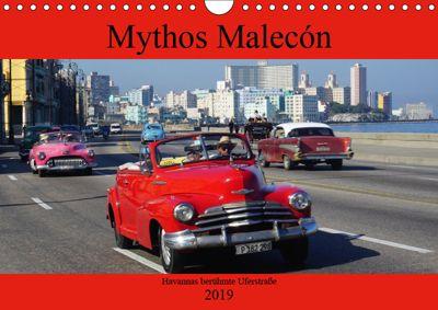 Mythos Malecón - Havannas berühmte Uferstrasse (Wandkalender 2019 DIN A4 quer), Henning von Löwis of Menar