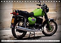 Mythos MZ - Ein DDR-Motorrad auf Kuba (Tischkalender 2019 DIN A5 quer) - Produktdetailbild 2