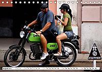 Mythos MZ - Ein DDR-Motorrad auf Kuba (Tischkalender 2019 DIN A5 quer) - Produktdetailbild 8