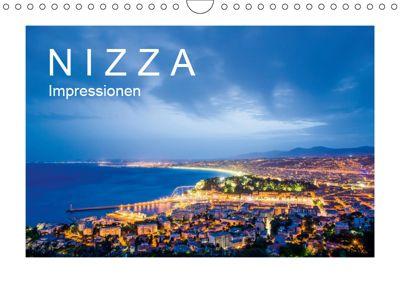 N I Z Z A Impressionen (Wandkalender 2019 DIN A4 quer), Werner Dieterich