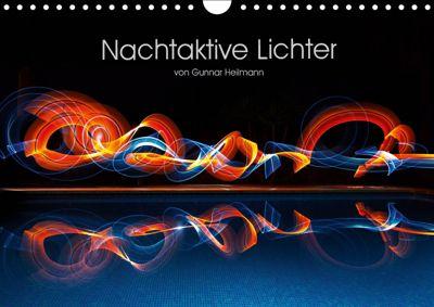 Nachtaktive Lichter (Wandkalender 2019 DIN A4 quer), Gunnar Heilmann