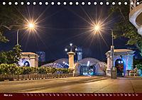 Nachtansichten Singapur City (Tischkalender 2019 DIN A5 quer) - Produktdetailbild 5