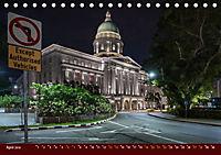 Nachtansichten Singapur City (Tischkalender 2019 DIN A5 quer) - Produktdetailbild 4