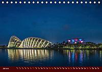 Nachtansichten Singapur City (Tischkalender 2019 DIN A5 quer) - Produktdetailbild 7