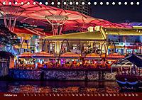 Nachtansichten Singapur City (Tischkalender 2019 DIN A5 quer) - Produktdetailbild 10