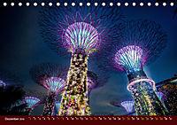 Nachtansichten Singapur City (Tischkalender 2019 DIN A5 quer) - Produktdetailbild 12
