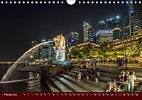 Nachtansichten Singapur City (Wandkalender 2019 DIN A4 quer) - Produktdetailbild 2